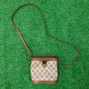 Vintage Gucci Supreme Monogram Binocular Bag